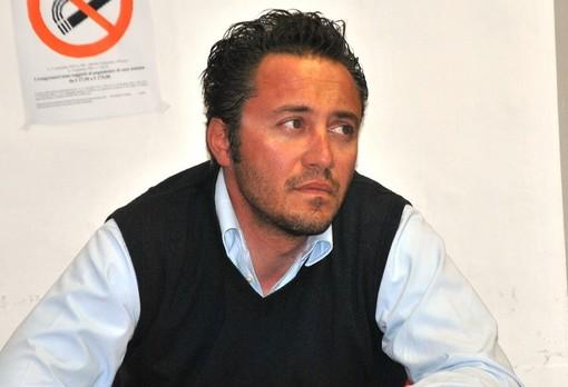 Il sindaco di Crissolo Fabrizio Re