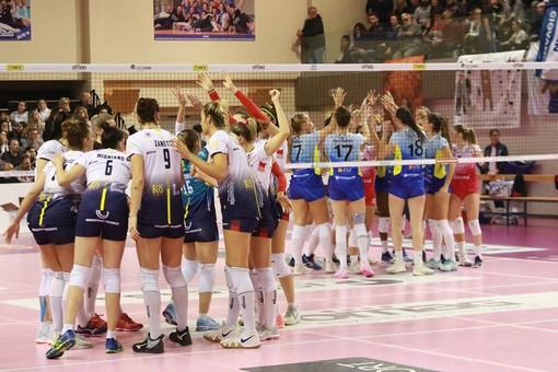 Una immagine relativa all'ultima gara disputata tra la Omag San Giovanni in Marignano e la Lpm (foto profilo Facebook Consolini)