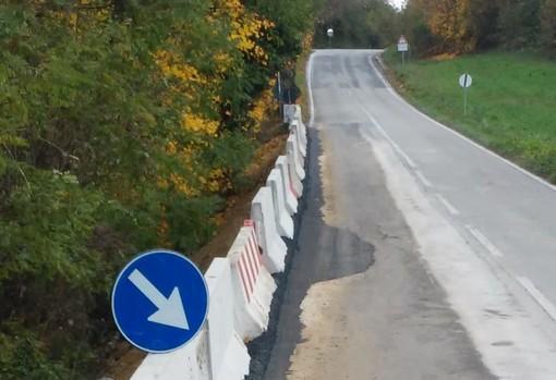 C'è il progetto definitivo per sistemare la frana tra Belvedere Langhe e Murazzano