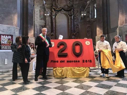 Al via la Fiera nazionale del Marrone 2018: taglio del nastro in Sala San Giovanni a Cuneo