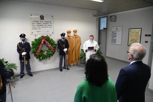 La cerimonia in Questura a Cuneo