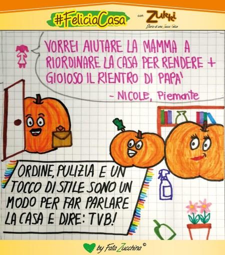 """Favole a casa: la nuova video rubrica di Fata Zucchina. Oggi raccontiamo """"La mezza casa"""" di Mauro Bernini"""