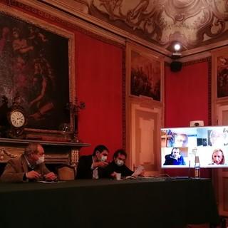 Per la prima volta la Giunta fossanese si è incontrata in videoconferenza su Skype