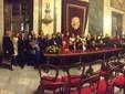 Cuneo, salone d'onore del municipio foto di gruppo per la cerimonia di consegna del premio Amelia Earhart 2018