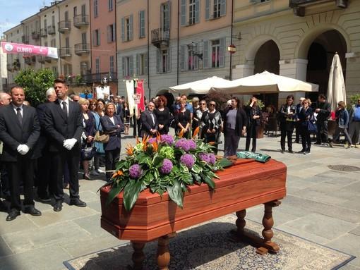 Cuneo saluta il Comandante Partigiano Nello Streri
