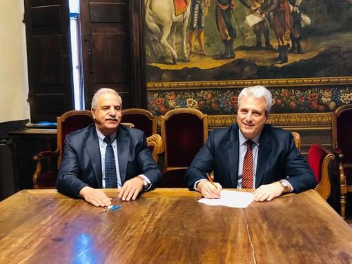 Firmato l'atto di trasferimento: l'Ex Frigorifero Militare alla Fondazione Crc