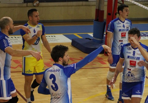 Volley maschile Serie B: Savigliano si impone per 3-0 sulla Erreesse Pavic