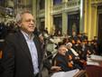 Enrico Mentana, ospite della cerimonia lo scorso anno (fonte Unisg)