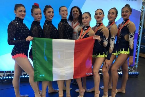 Ginnastica estetica di gruppo, Coppa del Mondo: sul podio la Società ginnastica Alba