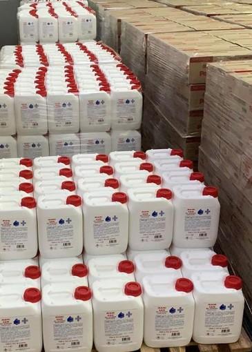 Diageo dona 100mila litri di gel disinfettante alla Fondazione Nuovo Ospedale e alla Protezione Civile del Piemonte