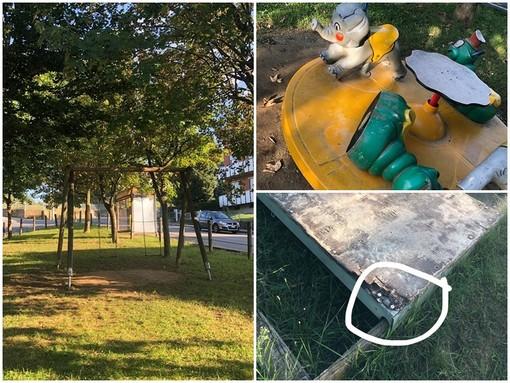 """Mondovì e il degrado dei giardinetti del Borgato: """"Stiamo intervenendo, li monitoriamo regolarmente"""""""