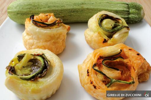 I mercoledì Veg di Ortofruit: oggi prepariamo le deliziose girelle di zucchini