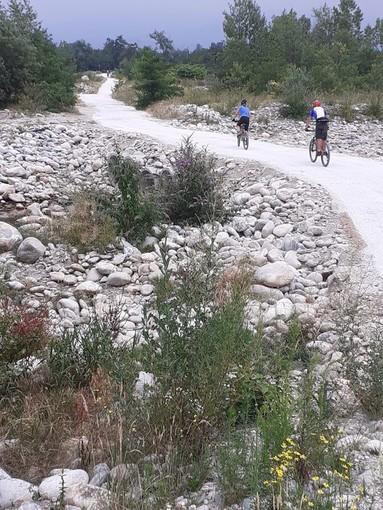 Ripristinato il guado sul Gesso: da oggi torna a collegare Cuneo a Mellana di Boves