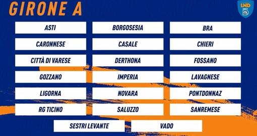 Calcio Serie D, ecco i gironi! Tutte le avversarie di Bra, Fossano e Saluzzo