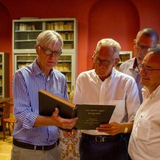 Ghisolfi, gemellaggio Pacchiotti - Accademia a Giaveno nel nome dell'educazione finanziaria