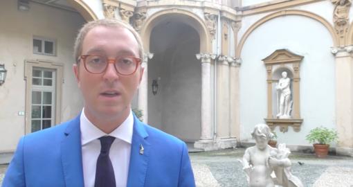Il consigliere regionale Matteo Gagliasso