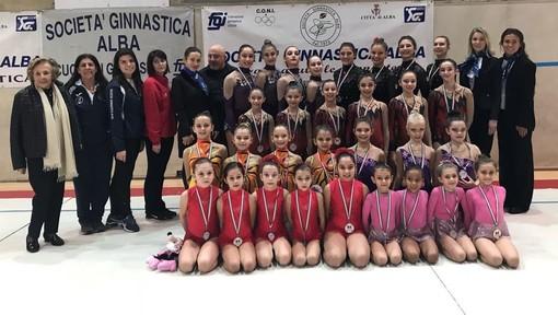 Ginnastica Estetica di gruppo: ad Alba la prima prova del Campionato Italiano