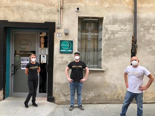 La quotidianità al tempo del Covid-19: il sushi solidale di Paolo Ravera