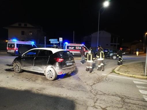 Incidente a Tarantasca in direzione Saluzzo: due feriti, soccorsi sul posto