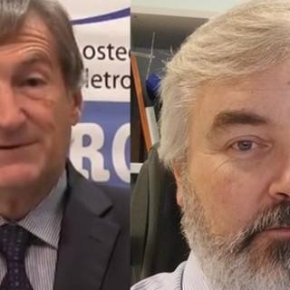 Giancarlo Isaia ed Enzo Medico