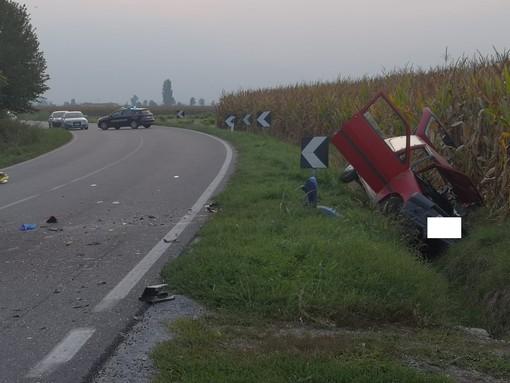 Incidente a Villafranca Piemonte tra tre vetture, un morto: tra i feriti mamma e figlia di Moretta