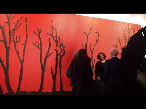 Saluzzo, opera della Esposizione Igav in Castiglia
