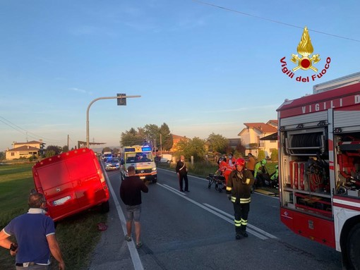 Incidente tra due mezzi a Magliano Alpi, donna elitrasportata al Santa Croce di Cuneo