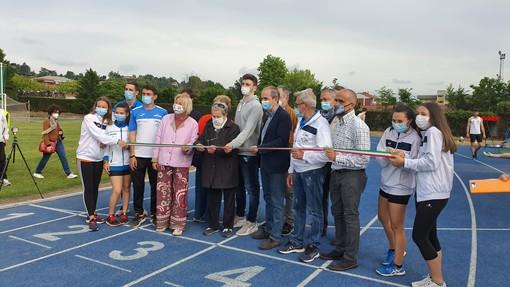 Bra: inaugurata la nuova pista di atletica