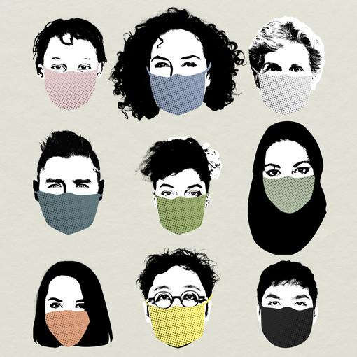 Uno, nessuno, centomila volti dietro le mascherine