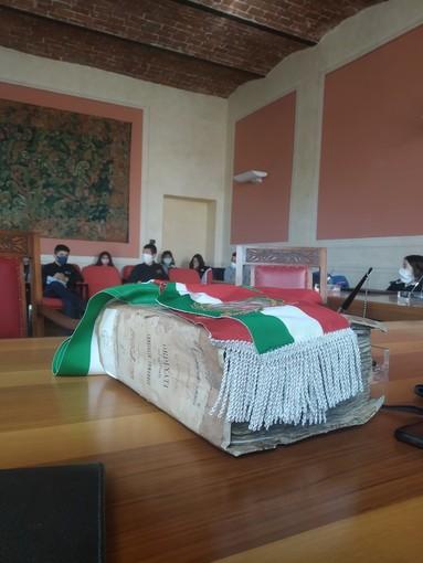 Gli alunni di quinta elementare incontrano i sindaci di Cervasca e Vignolo