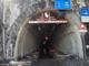 L'imbocco del tunnel di Tenda dopo la tempesta Alex di ottobre 2020