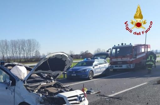 Salgono a due le vittime dell'incidente di ieri sulla Torino-Savona: deceduto all'ospedale di Cuneo pensionato torinese di 81 anni