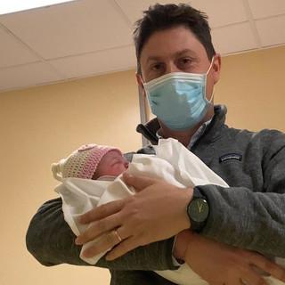 Il consigliere regionale di Saluzzo Paolo Demarchi è diventato papà per la seconda volta: benvenuta Vittoria