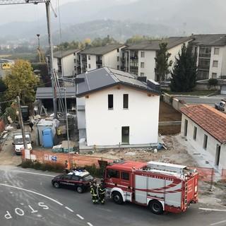 Villanova Mondovì: auto contro camion in via IV Novembre