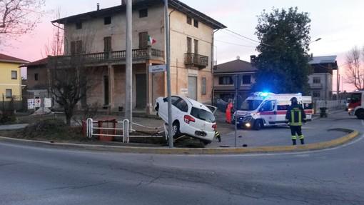 Rocambolesco incidente a Spinetta, alle porte di Cuneo