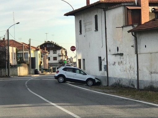 Cuneo, incidente in via Bisalta: coinvolte due automobili