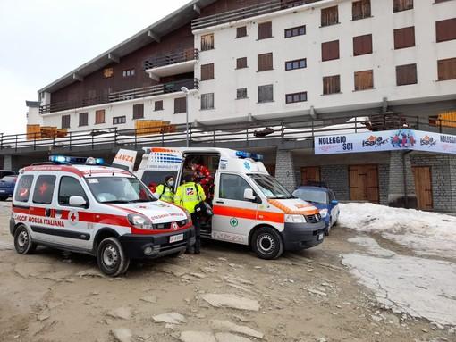 Bimbo cade dallo slittino a Rucas di Bagnolo. Trasportato in elisoccorso al Regina Margherita di Torino
