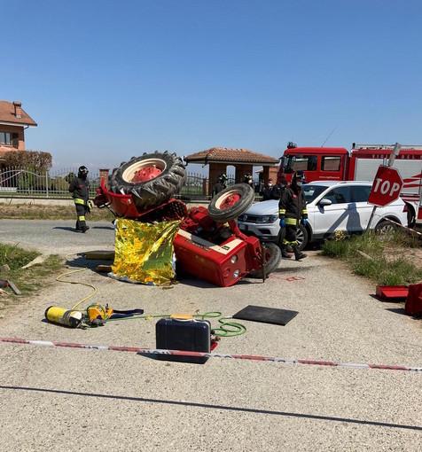 Incidente a Cavallerleone: agricoltore di 65 anni muore schiacciato dal trattore