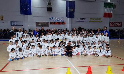 Ju Jitsu: a Cogoleto cento piccoli samurai provenienti da Piemonte e Liguria...