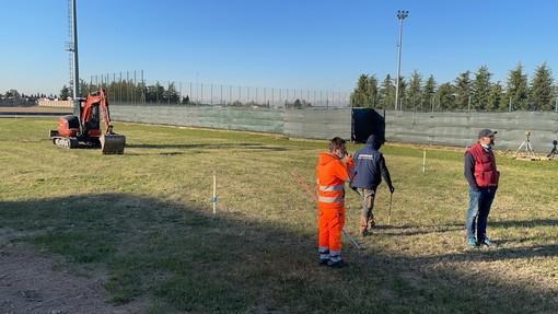 Caramagna: partiti i lavori per le due piste di atletica