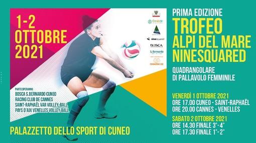 Volley femminile: venerdì 1 e sabato 2 ottobre a Cuneo appuntamento con il primo Trofeo Alpi del Mare - ninesquared