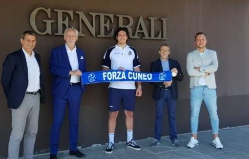 """Volley maschile A2, Cuneo riabbraccia Luca Filippi: """"Un sogno che si realizza"""""""