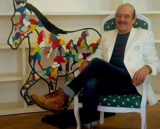 Espone a Palazzo Samone di Cuneo l'artista Pier Franco Cerutti