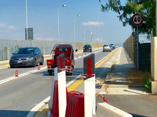 Dai 90 ai 40 km/h: abbassato il limite di velocità sul viadotto Soleri a Cuneo