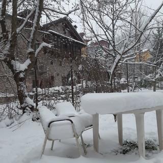 Neve di primavera: a Limone Piemonte ne sono scesi 20 centimetri