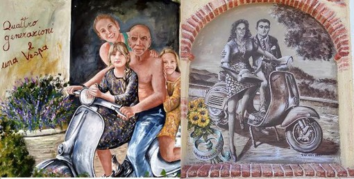 I due nuovi murales
