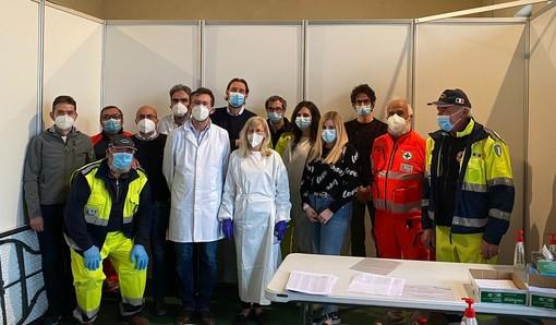 A Lagnasco, in un giorno vaccinati i cittadini 70enni