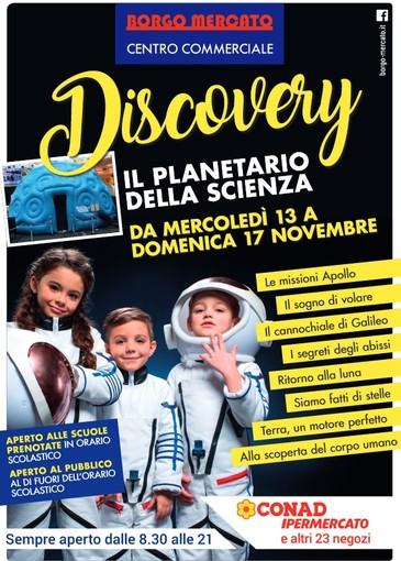"""""""Discovery"""": la grande cupola della scienza a Borgo Mercato"""