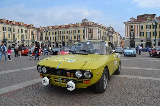A Cuneo domani torna la Ruota d'Oro Storica 2020: 56 equipaggi in partenza da piazza Virginio