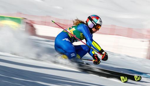 Marta Bassino in azione a Soelden (g. facciotti pentaphoto)